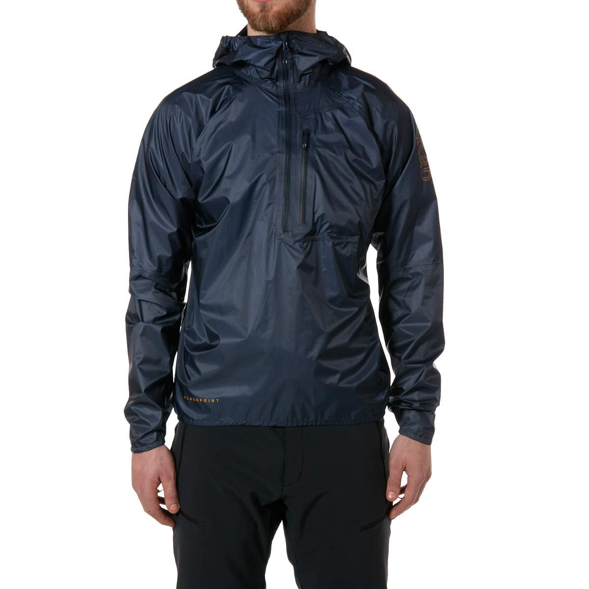 Ebay Gutschein Jacken Details Zu Rab Mens Deep Ink Blue Flashpoint Pull On Waterproof Jacket