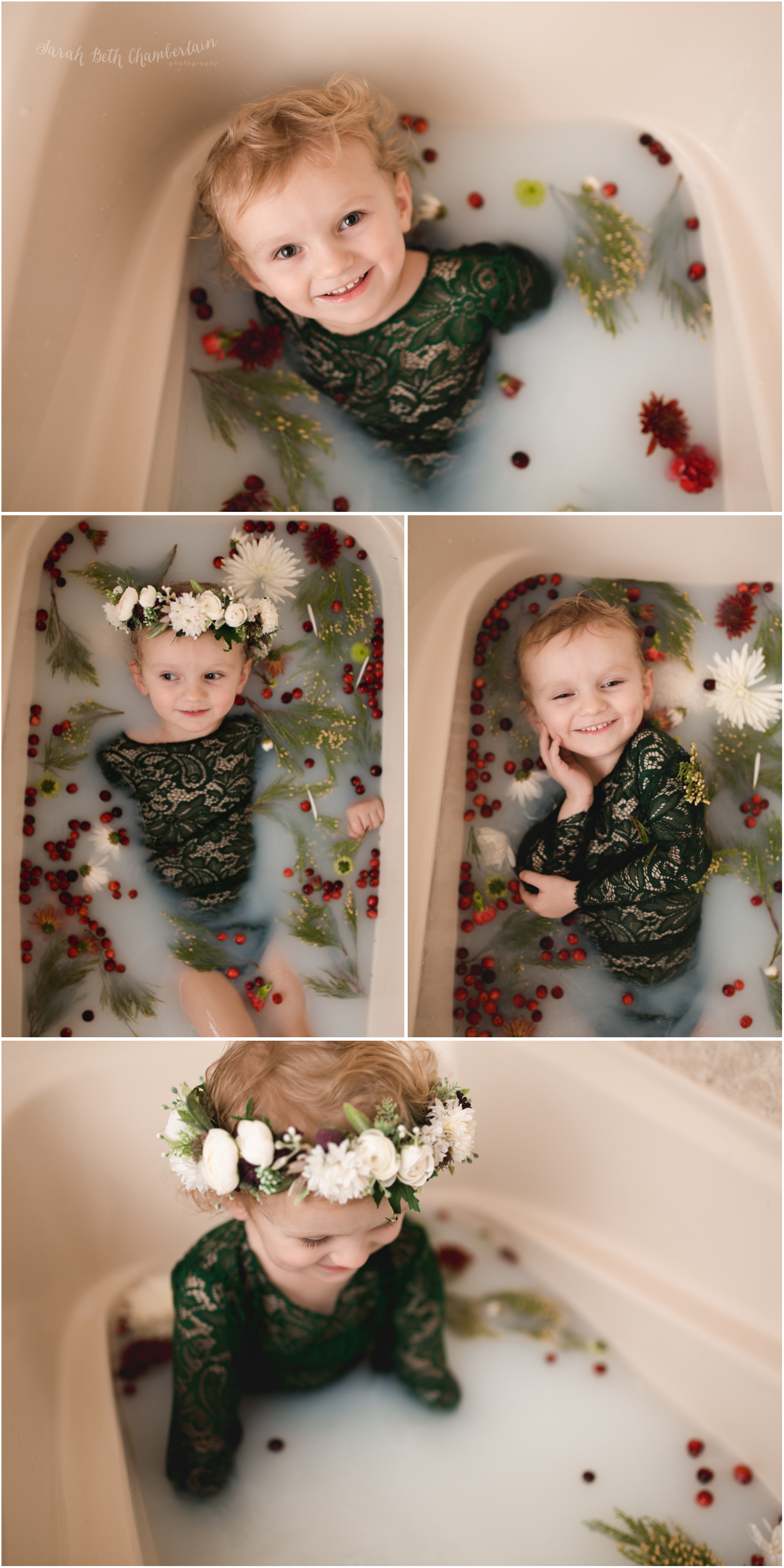Newborn Toddler Child Milk Bath Session North Las Vegas Photographer Child