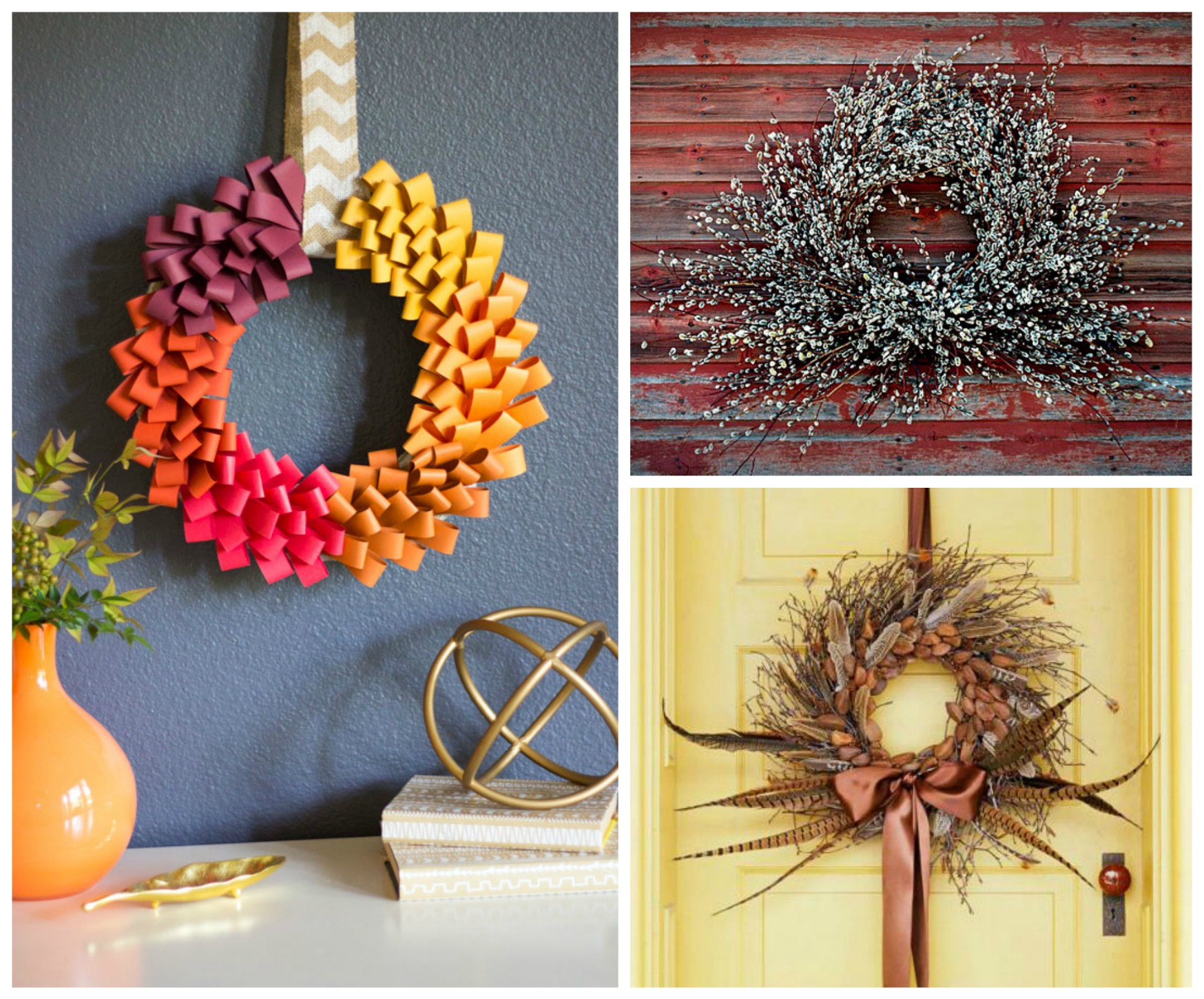 30 Easy Diy Fall Wreaths Anyone Can Make Sarah Blooms
