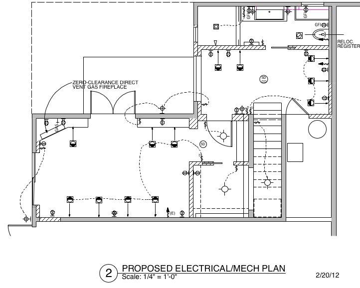 create electrical plan sketchup