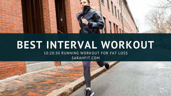 My Favorite Running Interval Workout | Cardio for Fat Loss