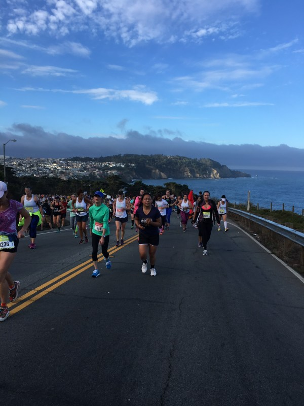 Mile 10 Nike womens half