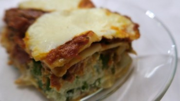 Freezer Meal for After Baby – Veggie and Chicken Sausage Lasagna