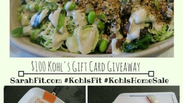 My Post Pregnancy Diet Plans + $100 Kohl's Giveaway