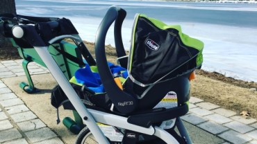 Running Postpartum with a Jogging Stroller