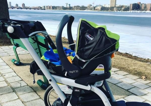 Running Postpartum with a Jogging Stroller