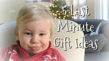 "Five Stress-Free, Last Minute Gift Ideas That Don't Involve ""Stuff"""