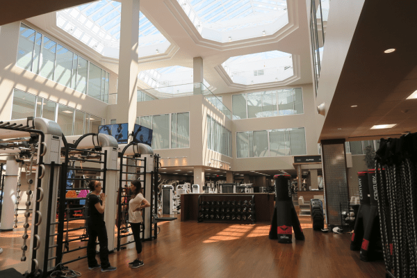 Chestnut Hill Lifetime Fitness Atrium