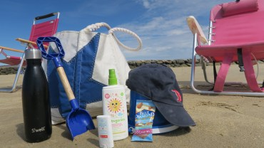 The Beach Baby Set Up – What To Bring With A Toddler