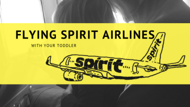 Traveling with a Toddler on Spirit Airlines to Orlando