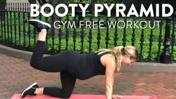 No Equipment Pyramid Butt Workout | Home Workout