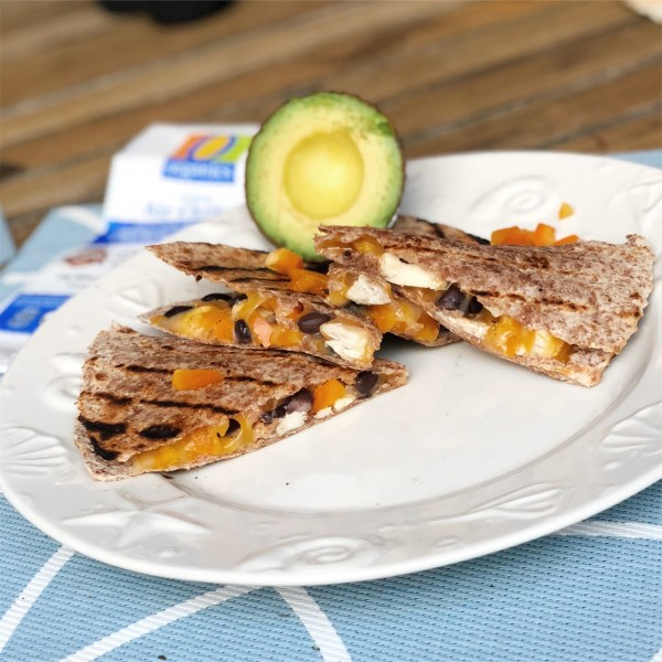 O Organics Grilled Quesadillas Family Friendly Toddler Meal Ideas