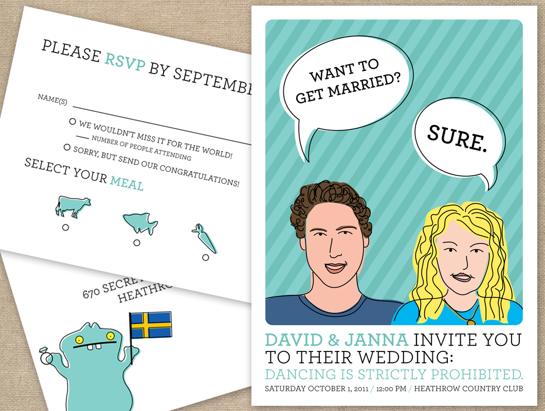 ugly wedding invitations Invitationsweddorg