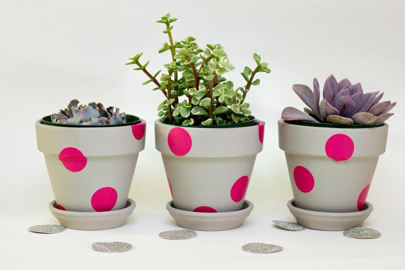 Painting Plant Pots Designs Easy Neon Painted Terracota Pots - Sarah Hearts