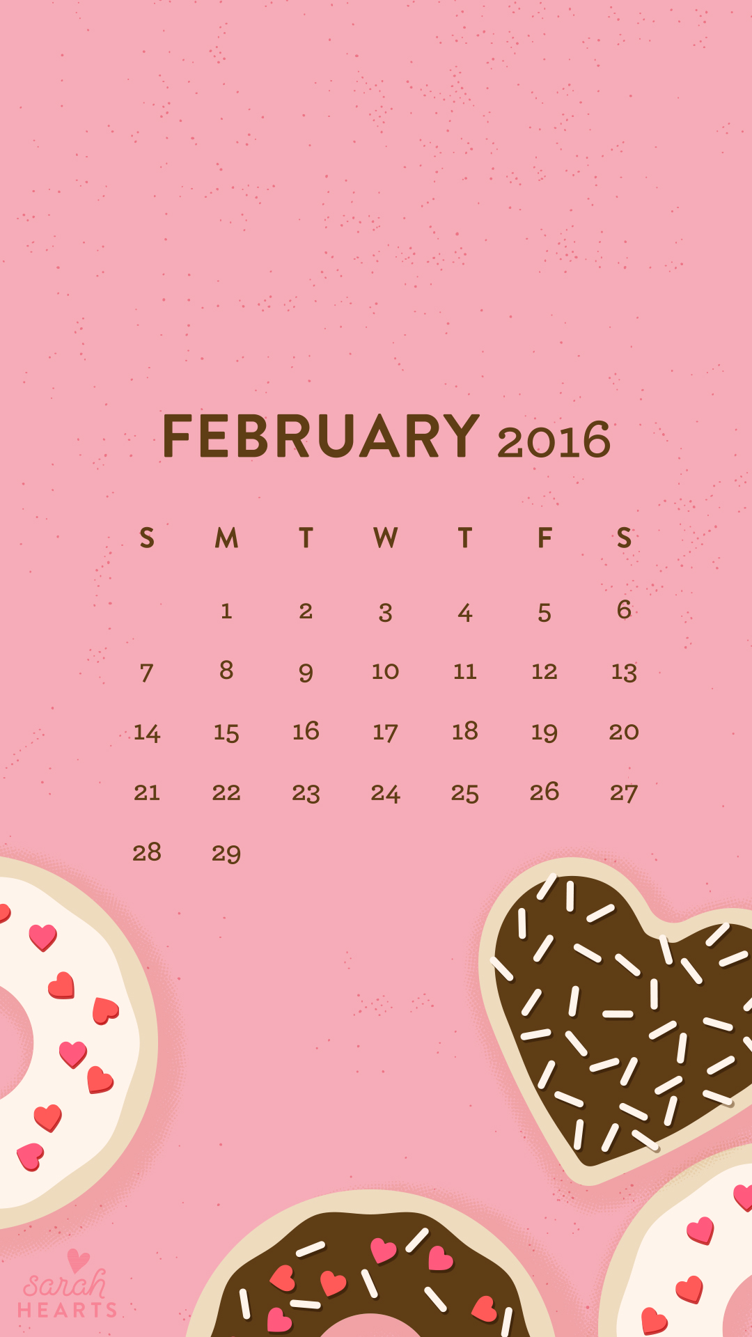 Cute Quote Desktop Wallpaper February 2016 Calendar Wallpaper Sarah Hearts