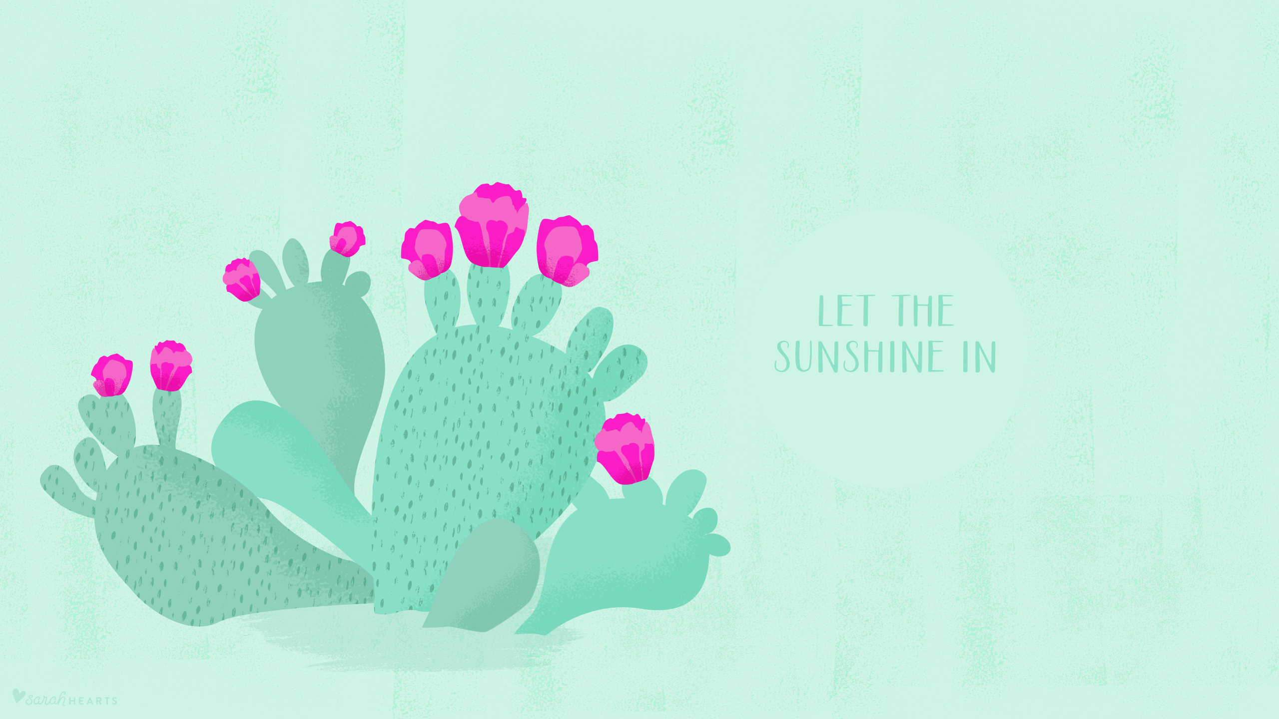 Be Positive Quotes Wallpaper May 2016 Cactus Calendar Wallpaper Sarah Hearts
