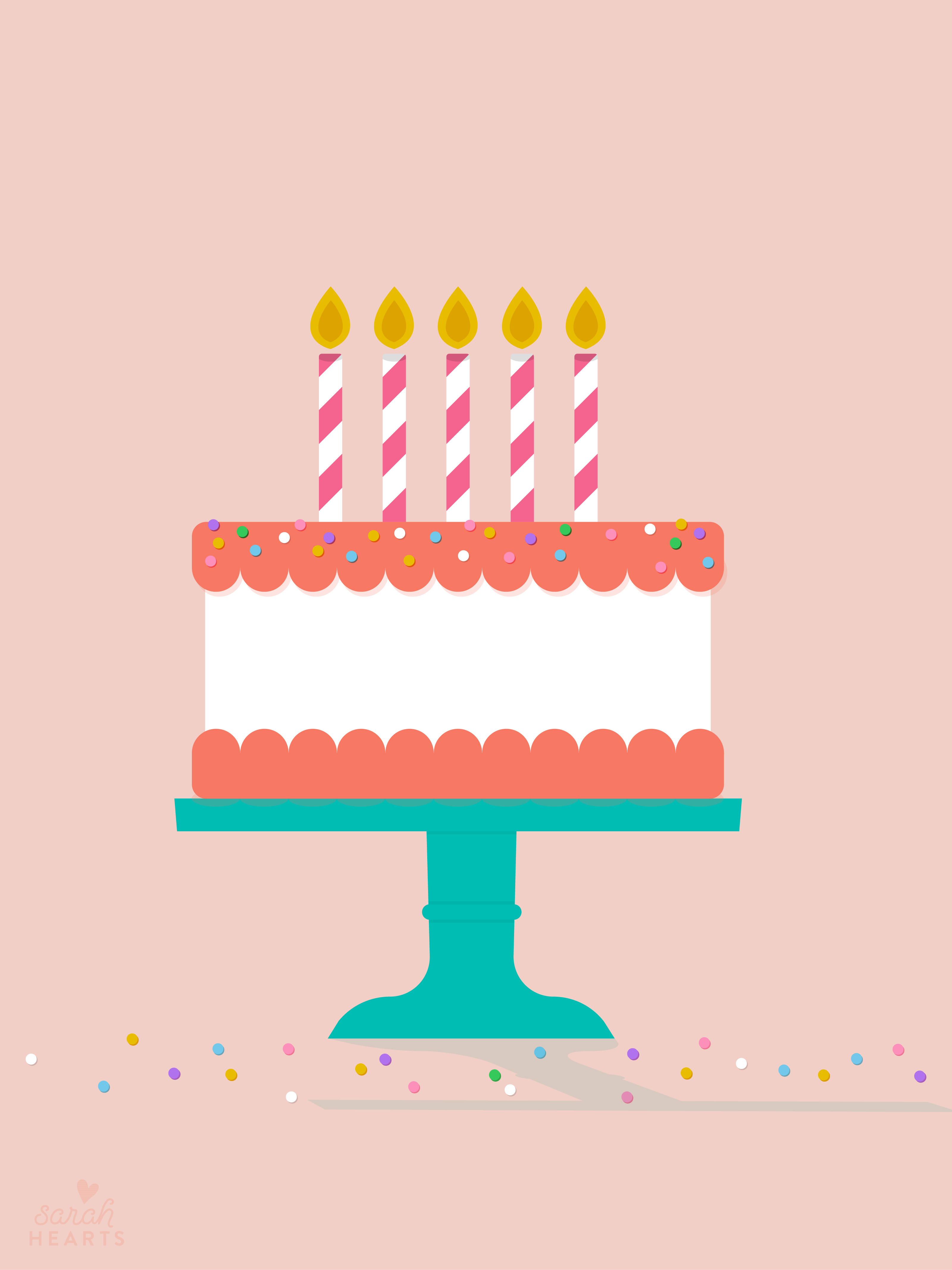 Cute Home Screen Wallpaper For Iphone July 2016 Birthday Cake Calendar Wallpaper Sarah Hearts