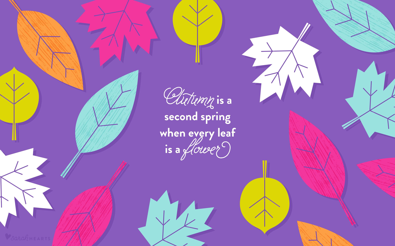 Fall Pumpkin Iphone Wallpaper October 2016 Fall Leaves Calendar Wallpapers Sarah Hearts