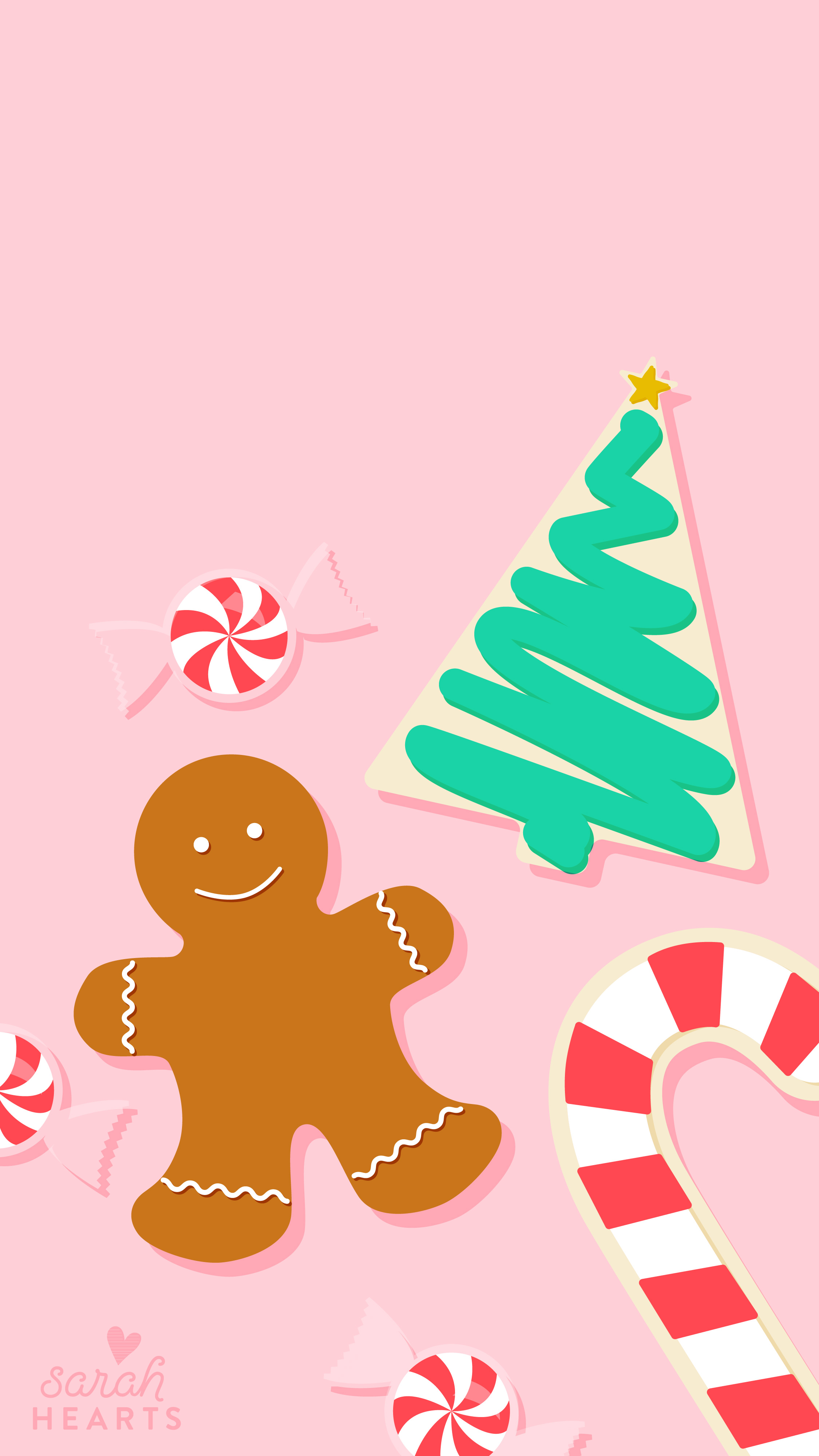 I Want To Believe Wallpaper Iphone December 2016 Christmas Cookie Calendar Wallpaper Sarah