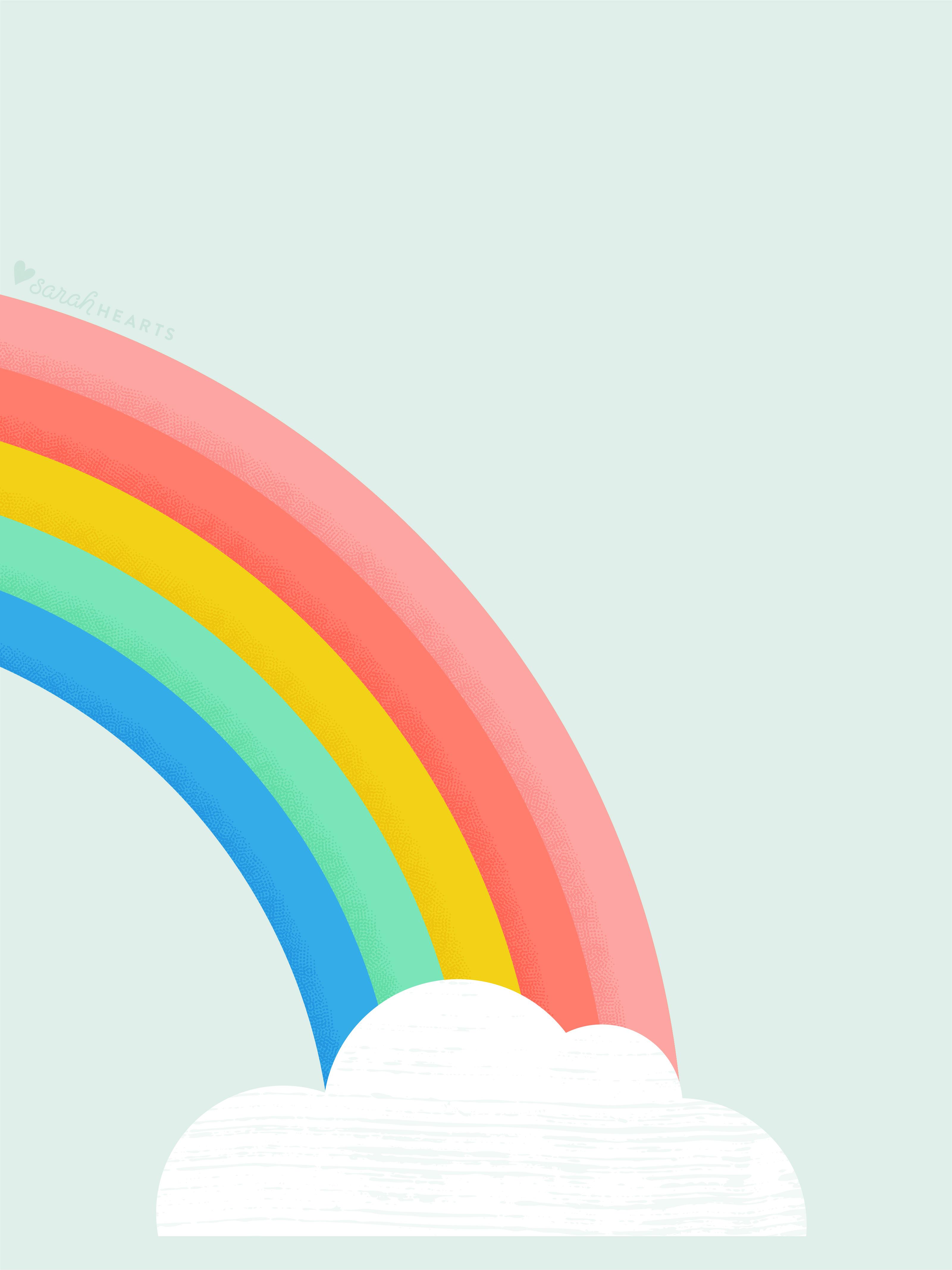 Iphone Wallpaper Quote Pink Rainbow March 2017 Calendar Wallpaper Sarah Hearts