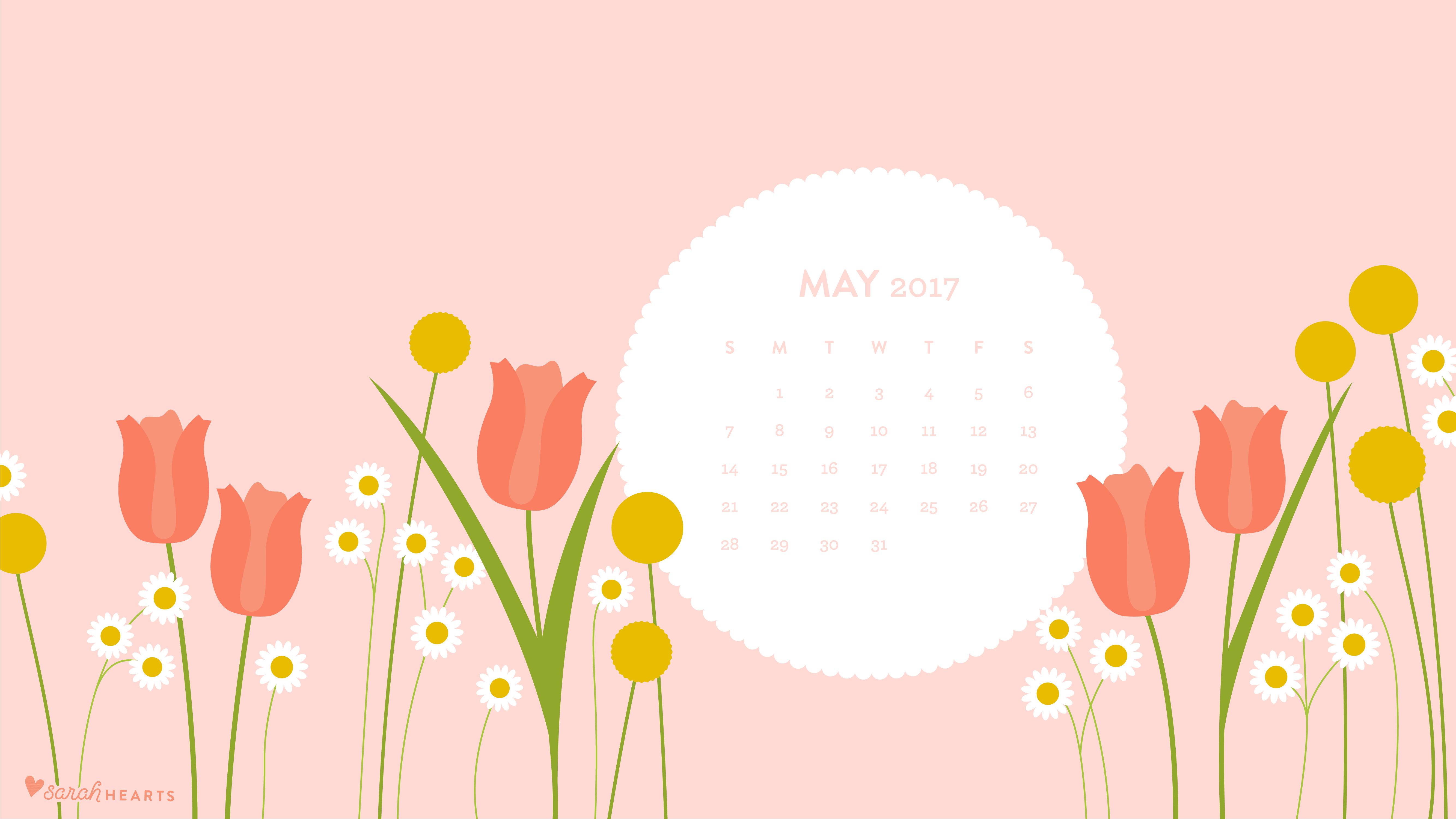 Cute Wallpaper For Home Screen May 2017 Calendar Wallpaper Sarah Hearts