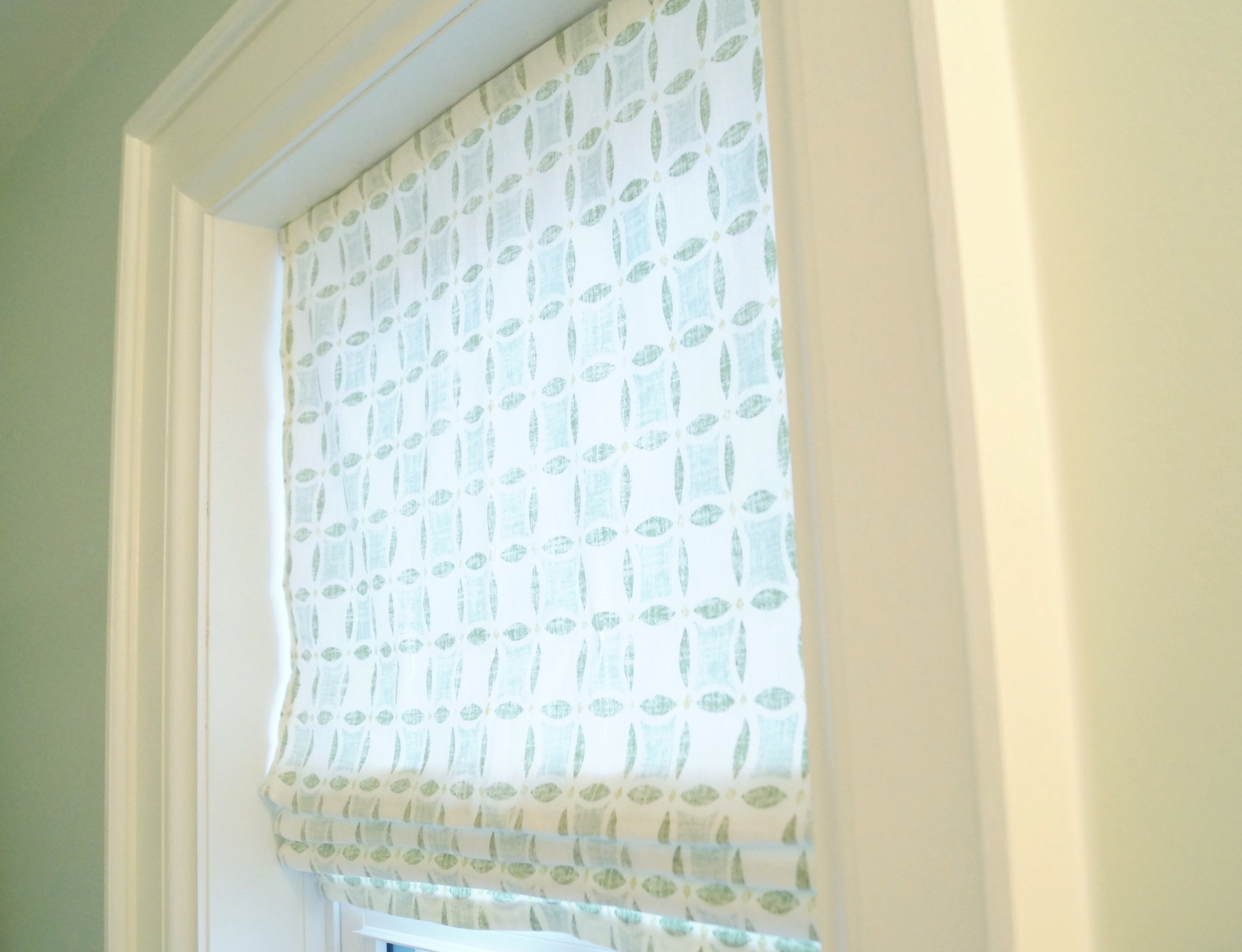 Diy Roman Shades Easy Diy Fixed Roman Shade Sarah Henderson Interiors