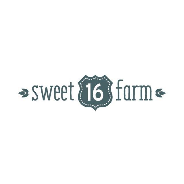 Sweet 16 Farm logo variation