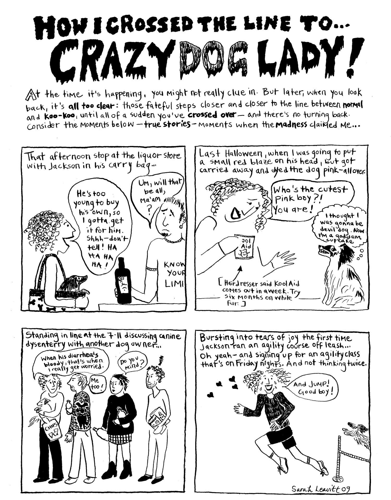 Fullsize Of Crazy Dog Lady