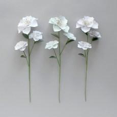 Stemmed Paper Flowers