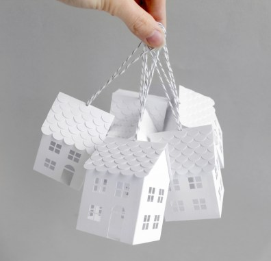 3D Paper Engineered Houses