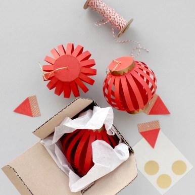 3D Paper Chinese Lanterns