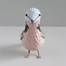 Sarah Louise Matthews 3D Paper Engineer Spotted Dove Bird