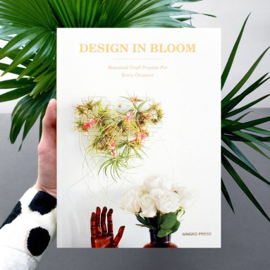 'Design in Bloom' Gingko Press 2015 - Paper Flowers