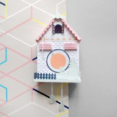 Sarah Louise Matthews 3D Paper Engineered Cuckoo Clock