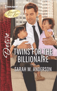 twins for the billionaire by Sarah M. Anderson
