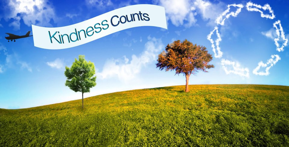 Kindness Counts Facebook Cover Photo