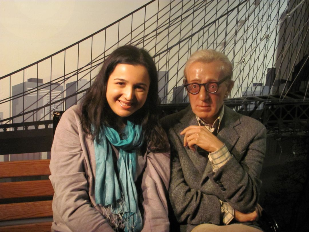 Hot On The Street - Sarah Prince and Woody Allen