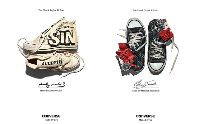 Converse - Made By You - Andy Warhol