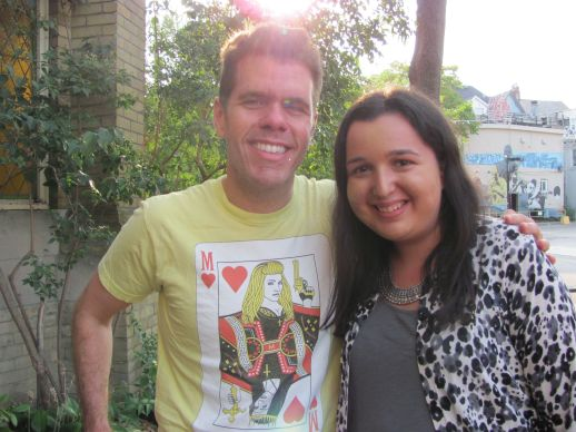 Hot On The Street - Perez Hilton and Sarah Prince