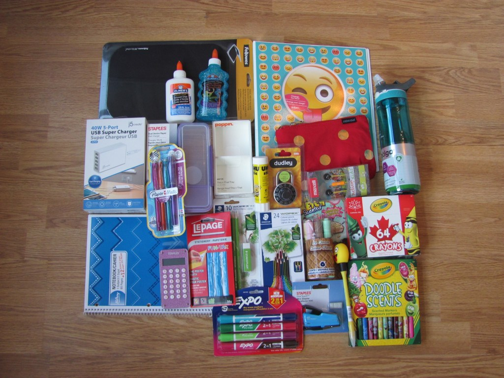 Hot On The Street & Staples Canada Back To School 2017 Contest Prize