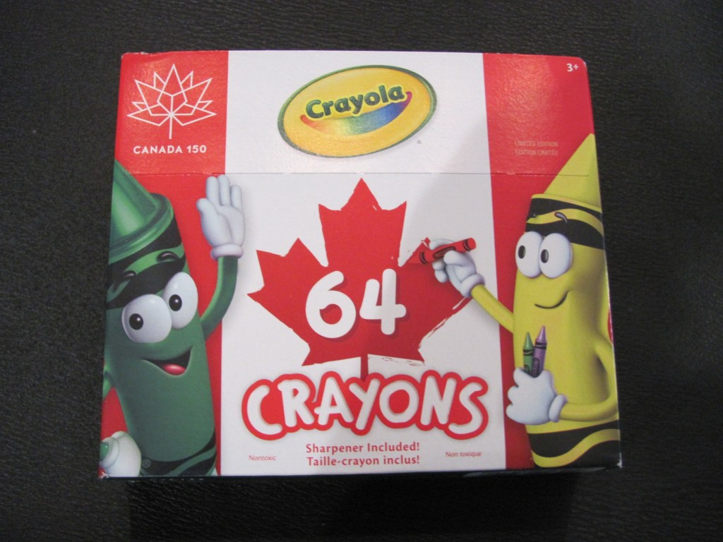 Hot On The Street & Staples Canada - Canada 150 Crayons