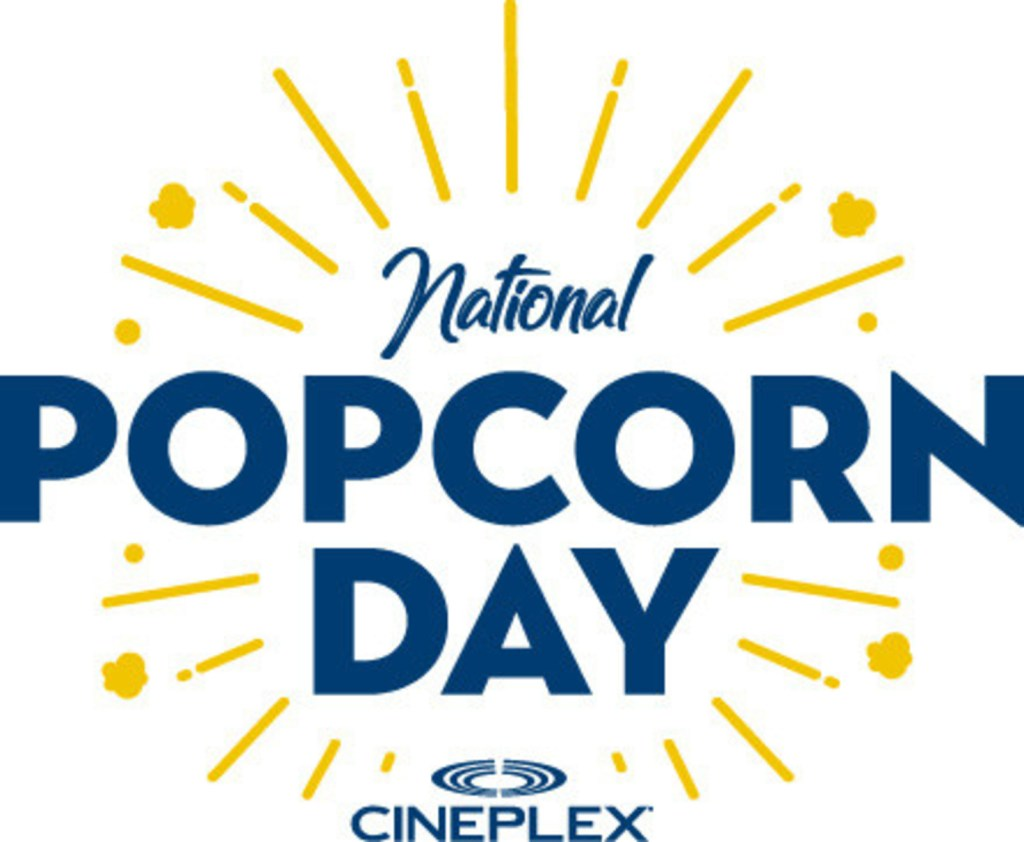 National Popcorn Day (CNW Group/Cineplex)
