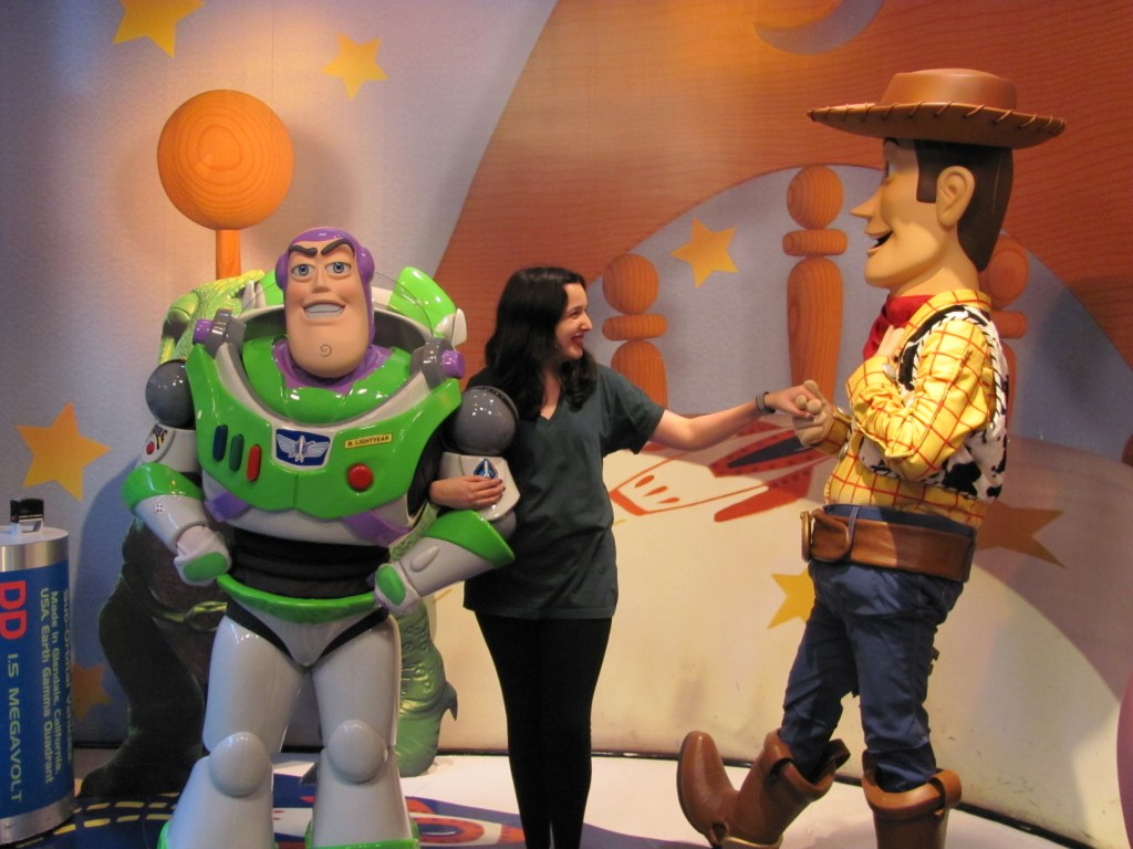 Sarah Prince Toy Story Buzz Lightyear and Woody