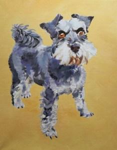 Lola - pet painting