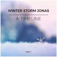 Jonas - The Timeline of a Snowstorm Part 1.