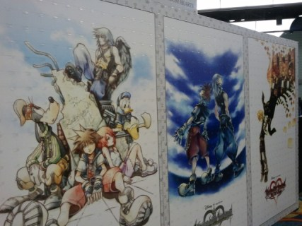 kingdom hearts mural remix
