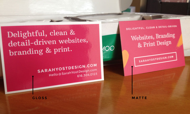 Moo Business Cards Review Sarah Designs the World!
