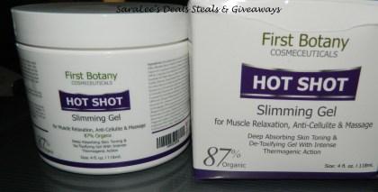 Hot Shot Slimming and Massaging Gel 4oz