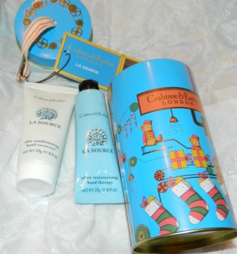 Crabtree & Evelyn La Source Hand Care Ornament Tin