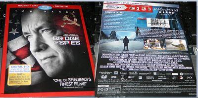 Bridge of Spies BD + DVD + Digital